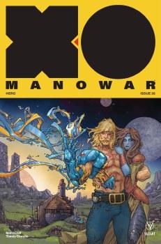 X-O Manowar (2017) #26 Cvr A Rocafort