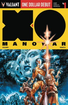 X-O Manowar (2017) #1 Dollar Debut