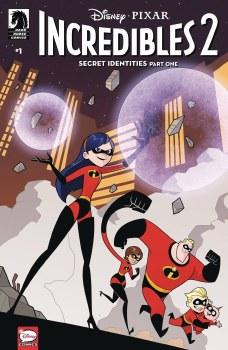 Disney Incredibles 2 Secret Identities #1 (of 3) Cvr B Kawai