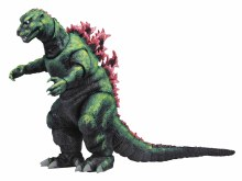 Godzilla 1956 Movie Poster 12-In Long Action Figure