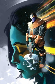 Thanos #1 By Dekal Poster