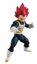 Dragon Ball Styling Super Saiyan God Vegeta Figure