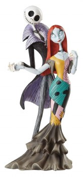 Disney Showcase Nbx Jack and Sally Deluxe Figure