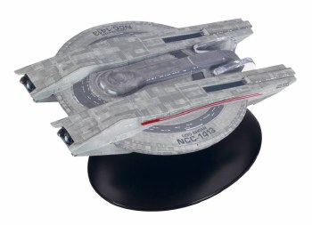 Star Trek Discovery Figurine Mag Collection #11 USS Shran Ncc-1413