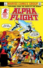 Alpha Flight #1 Facsimile Edition