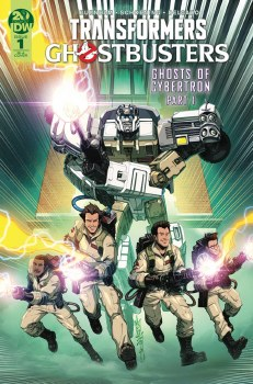 Transformers Ghostbusters #1 (of 5) 10 Copy Incv Milne