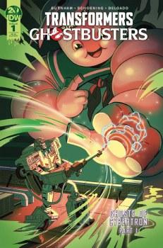 Transformers Ghostbusters #1 (of 5) 25 Copy Incv Ganucheau