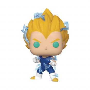 Pop DBZ Super Saiyan 2 Vegeta Px Vinyl Figure Box Damage