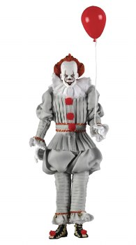 It 2017 Pennywise 8in Retro Action Figure
