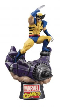 Marvel Comics Wolverine D-Stage Series Px 6in Statue