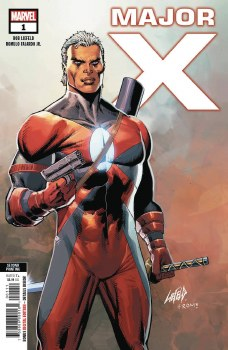 Major X #1 (of 6) 2nd Ptg Liefeld Variant