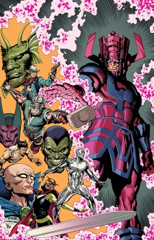 History of Marvel Universe By