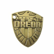 2000AD 1/2 Scale Judge Dredd Badge