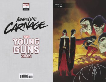 Absolute Carnage #1 (of 5) Kuder Young Guns Var