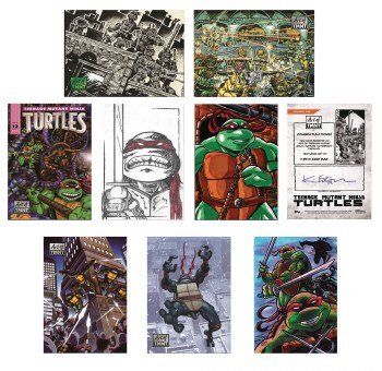 Topps 2019 Art of Tmnt T/C Box