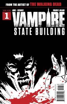 Vampire State Building #1 Cvr C Adlard B&W&Red