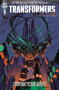 Transformers Galaxies #1 Caltsoudas 10 Copy Incv Var