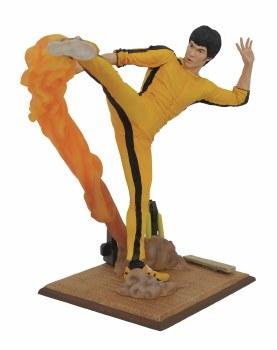 Bruce Lee Gallery Kicking Pvc Figure