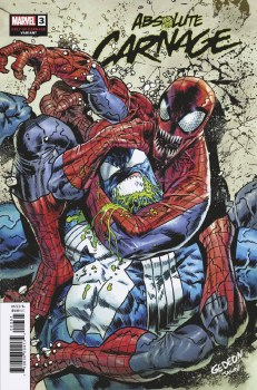 Absolute Carnage #3 (of 5) Gedeon Cult of Carnage Var