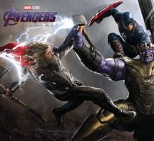 Avengers Endgame Art of Movie