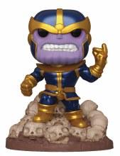 Pop Marvel Heroes Thanos Snap 6in Px Deluxe Vinyl Figure