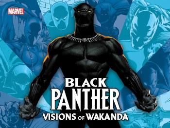 Black Panther HC Visions of Wa