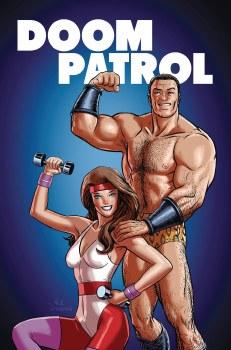 Doom Patrol Weight of the Worlds #4