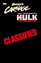 Absolute Carnage Immortal Hulk #1 Keown Codex Var