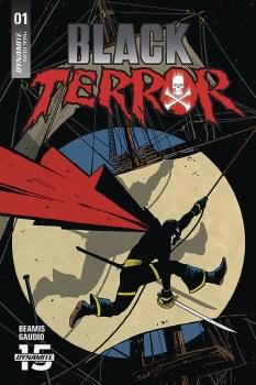 Black Terror #1 Cvr B Fornes