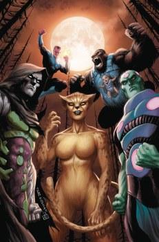 Justice League #36 Var Ed