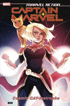Marvel Action Captain Marvel TP VOL 01 Cat-Tastrophe