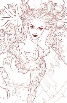 Harley Quinn & Poison Ivy #5 (of 6) Card Stock Poison Ivy Var