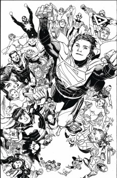 Legion of Super Heroes #3 Card Stock Var