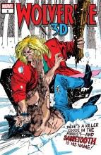 Wolverine Vs Sabretooth 3d #1