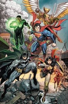 Justice League #40 Card Stock Arthur Adams Var