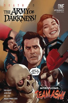 Death To Army of Darkness #1 Cvr A Oliver Signed by Jacob Edgar