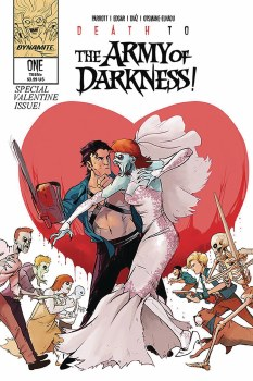Death To Army of Darkness #1 Cvr D Piriz Signed by Jacob Edgar