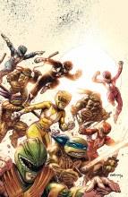 Power Rangers Teenage Mutant Ninja Turtles #1 Foc Var
