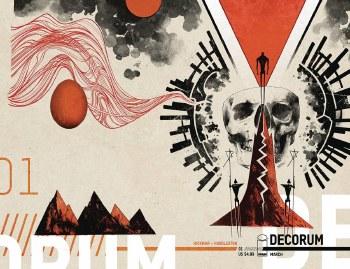 Decorum #1 (of 8) Cvr B Huddleston