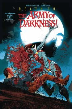 Death To Army of Darkness #2 Cvr D Gedeon Zombie SIGNED BY JACOB EDGAR