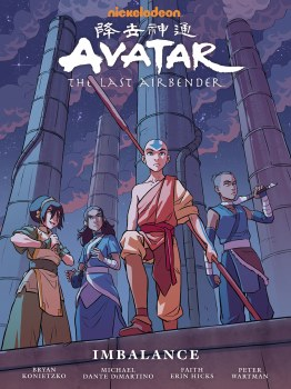 Avatar the Last Airbender Imbalance Library Edition HC