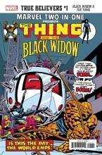 True Believers Black Widow & The Thing #1