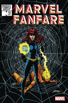 Marvel Fanfare #10 Facsimile P
