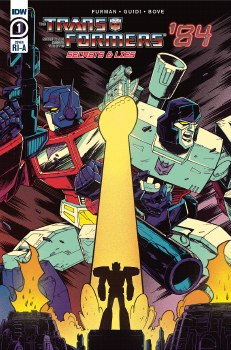 Transformers 84 Secrets & Lies #1 (of 4) Roche 10 Copy Var