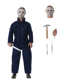 Halloween 2 Michael Myers 8in Retro Action Figure