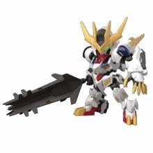 Gundam Ibo 16 Gundam Barbatos Lupus Rex Sdcs Model Kit