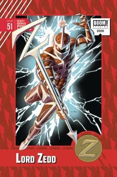 Mighty Morphin Power Rangers #51 Anka 10 Copy Var