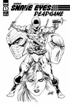 Snake Eyes Deadgame #1 (of 5) Liefeld Ink 10 Copy Var