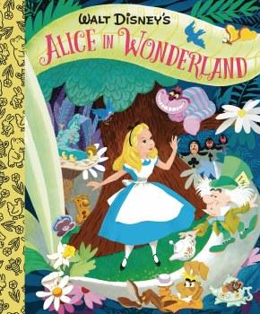 Walt Disney Alice In Wonderland Little Golden Board Book