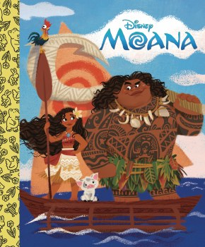 Disney Moana Little Golden Board Book